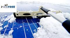 Curatare zapada parcuri fotovoltaice