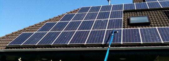 Spalare panouri solare