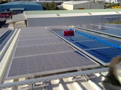 Spalare si curatare panouri solare